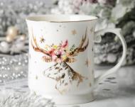 Чашка Lefard Рождественский Олень 400 мл (924-449)