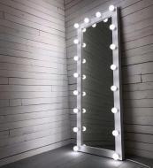 Большое зеркало в полный рост 1800х800 мм для дома/салона красоты МДФ