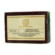 Аюрведичне мило з абрикосовим скрабом Khadi 125 г