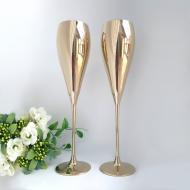 Набор бокалов Rona Grace для шампанского 280 мл 2 шт. Золото (6835 0 280 2)