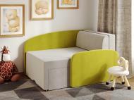 Міні-диван трансформер Viorina-Deko Smile 01 Салатовий/Білий