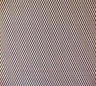Сітка для захисту радіатора алюмінієва Carmos № 1 дрібна 40х120 см Чорний