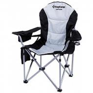 Крісло Kingcamp Deluxe Hard Arms Chair Black/Mid Grey (KC3888)