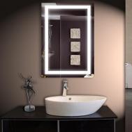 Led зеркало DecorLed с подсветкой в ванную комнату 550x800 (ZSD-056)