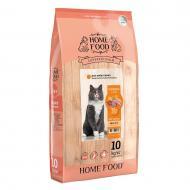 Корм сухий HOME FOOD Chicken & Liver для дорослих вибагливих котів 10 кг