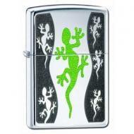 Запальничка Zippo Green lizard Сірий (21149)