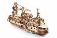 3D-пазл UGEARS «Научно-исследовательское судно»