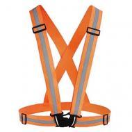 Світловідбиваючий пояс-жилет для велосипедистів UFT waistcoat Orange