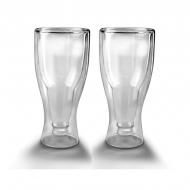 Бокалы для пива Herrison с двойным стеклом 2 шт 400 мл