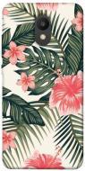 TPU чохол itsPrint Tropic flowers для Meizu M6