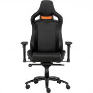 Геймерское кресло GT Racer X-0714 Black/Orange