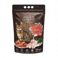 Корм сухий HOME FOOD Курочка та креветка для дорослих активних котів 1,6 кг