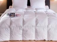 Одеяло пуховое Уютная Жизнь Тик-Батиста 140х200 см/100% гусиный пух