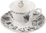 Чашка с блюдцем Creative Tops Alice in Wonderland 75 мл (VA5200019)