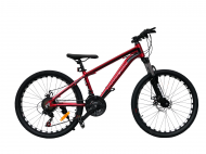"""Велосипед TopRider 680 2021 24"""" 36 см Червоний"""