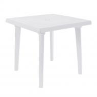 Стіл пластиковий Алеана квадратний 80x80 см Білий