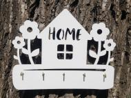 Настенная ключница Уютный Дом Белый (11)