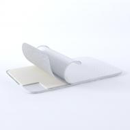 Матрас-топпер тонкий GS Cotton Duo 80х200 см Белый (02022020-19-06)