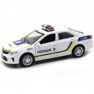 Машинка іграшкова Автопром Toyota Поліцейський автомобіль метал/світло/звук (7844)