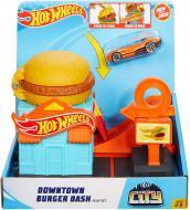 Ігровий набір Hot Wheels City Downtown Burger Dash Playset GJK73 (03920R)