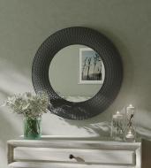Зеркало настенное VELKA Knit в графитовой раме 80 см (VKG80)