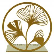 Упор для книг Glozis Ginkgo Bronze G-040 14х14 см