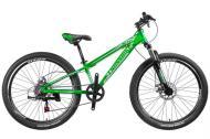 """Велосипед Cross Blast 2021 SUSP 26"""" рама 33 см Неоновий/Зелений"""