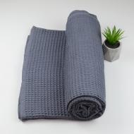 Покрывало вафельное GM Textile 200х220 см Серый