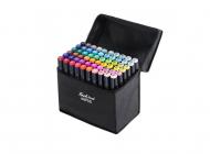 Набір скетч-маркерів для малювання Touch Raven двосторонні 60 шт.