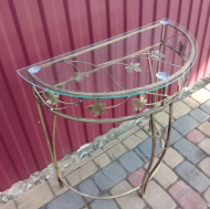 Столик пристенный Б 75х70х35 см