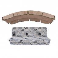 Комплект подушек для качелей eGarden Orfeo180 с тентом