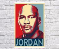 Постер плакат BEGEMOT Поп-Арт Майкл Джордан Michael Jordan 61x90 см (1121294-1)