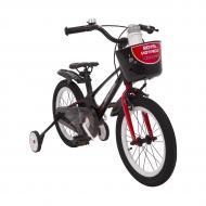 Велосипед детский SHADOW 16 дюймов от 4 лет Черный/Красный