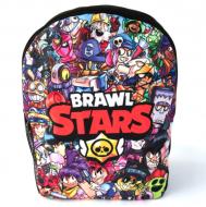 Кольоровий рюкзак з героями гри Бравл Старс, 35 х 25 см