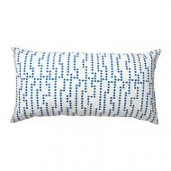 Подушка декоративная IKEA AVSIKTLIG (403.458.11) 30x60 см Голубой/Белый
