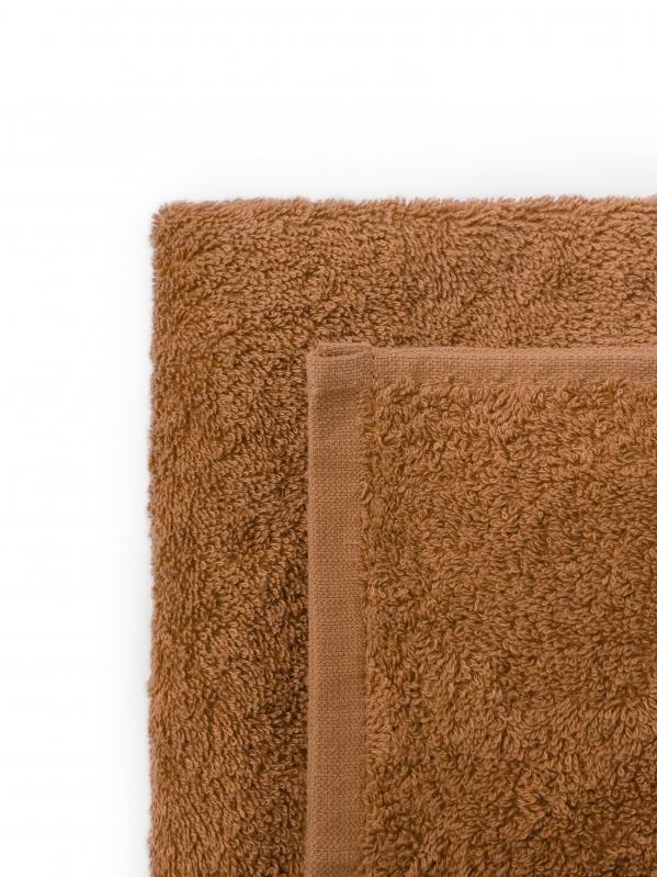 Простынь махровая Dokma 440 г/м² 155x220 Camel - фото 2