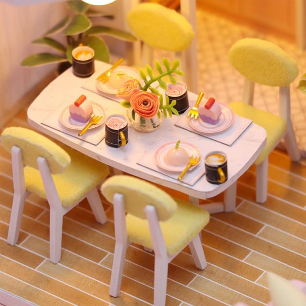 3D Румбокс CuteBee Sweet Time DIY DollHouse (M2001) - фото 8