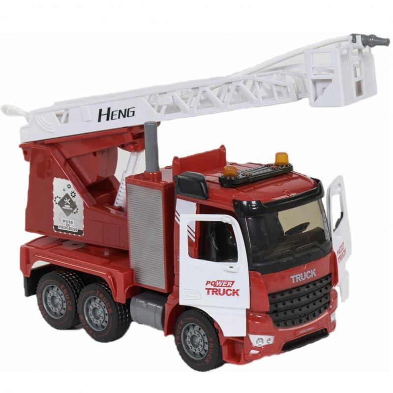 Пожежна машина Hengheng Toys зі світлом і звуком (009935) - фото 1
