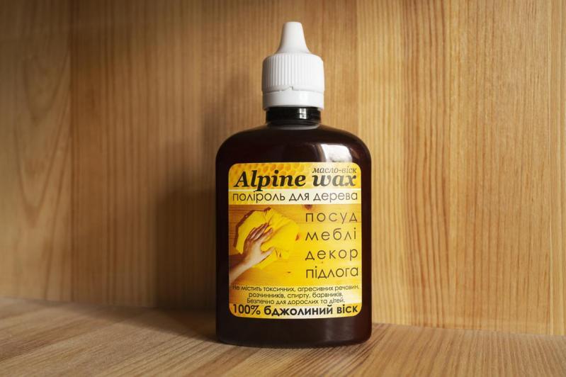 Поліроль восковий для меблів Alpine Wax 100 мл Прозорий - фото 2