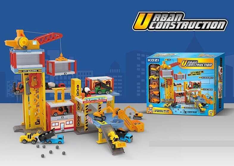 Ігровий набір Urban Construction Ігровий паркінг 5 поверхів - фото 2