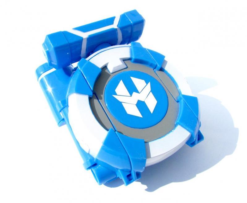 Іграшка Dabitoy Ліга Вотчкар машинка Блюввил і Джин та запускач WatchCar Синій - фото 7