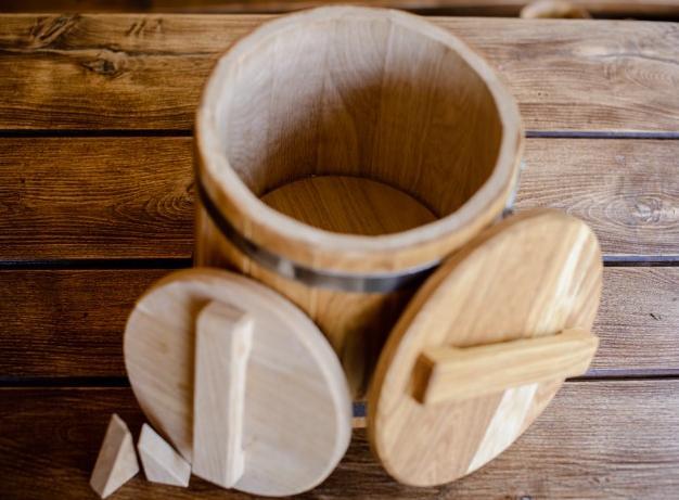 Кадка для соління 5 л з дуба - фото 3