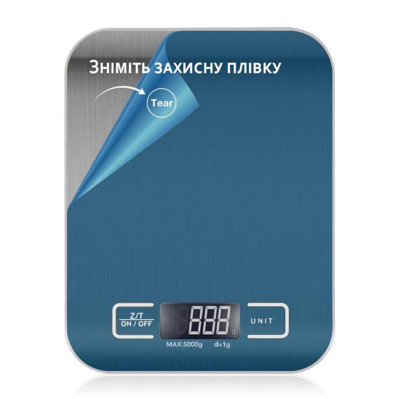 Весы кухонные с металлической платформой Kitchen SF-2012 до 5 кг - фото 5