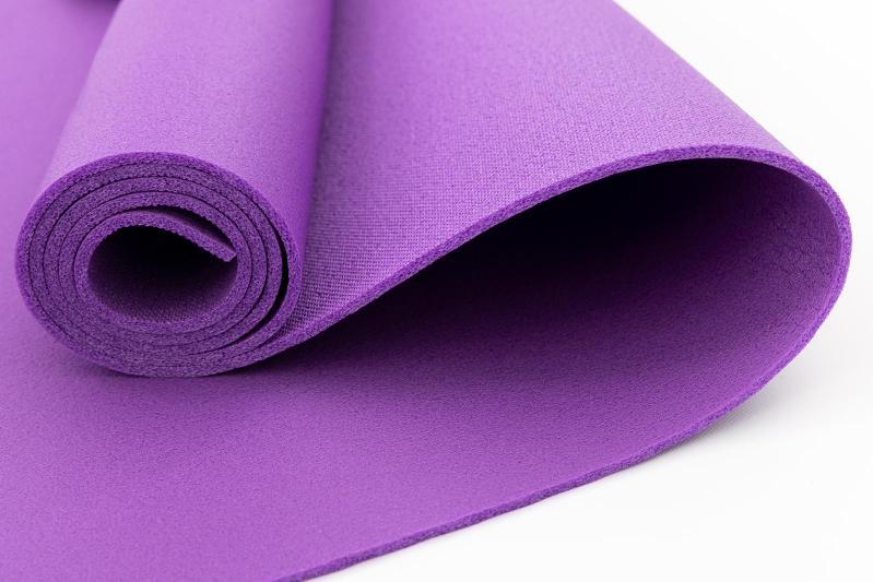 Килимок для йоги та фітнесу OSPORT FI-0077 Колібрі Фіолетовий - фото 2