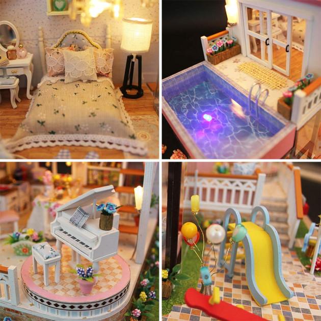 Будиночок ляльковий CuteBee Doll House Вілла (V787SD) - фото 3