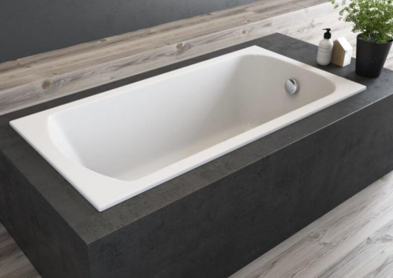 Ванна Polimat Classic Slim 180x80 - фото 3