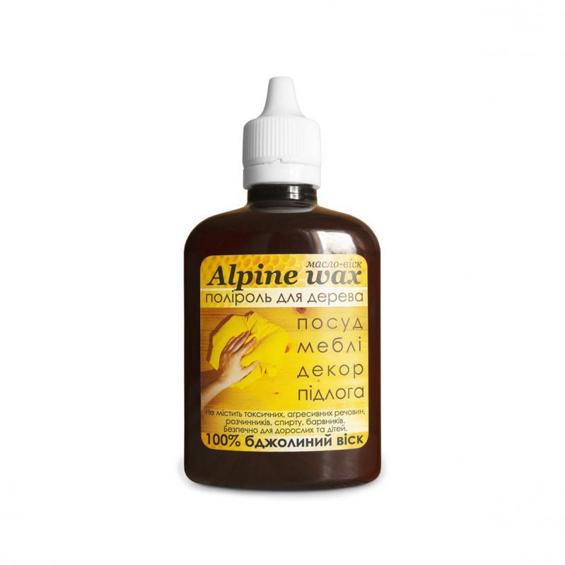 Поліроль восковий для меблів Alpine Wax 100 мл Прозорий - фото 1