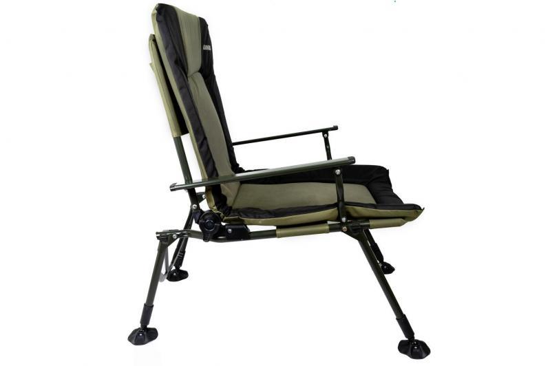 Кресло карповое раскладное для отдыха Ranger 70х97х104-115 см - фото 12