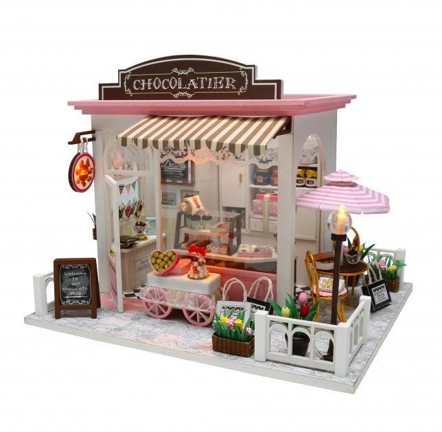 3D Румбокс CuteBee DIY DollHouse Шоколадниця (V358SD) - фото 1