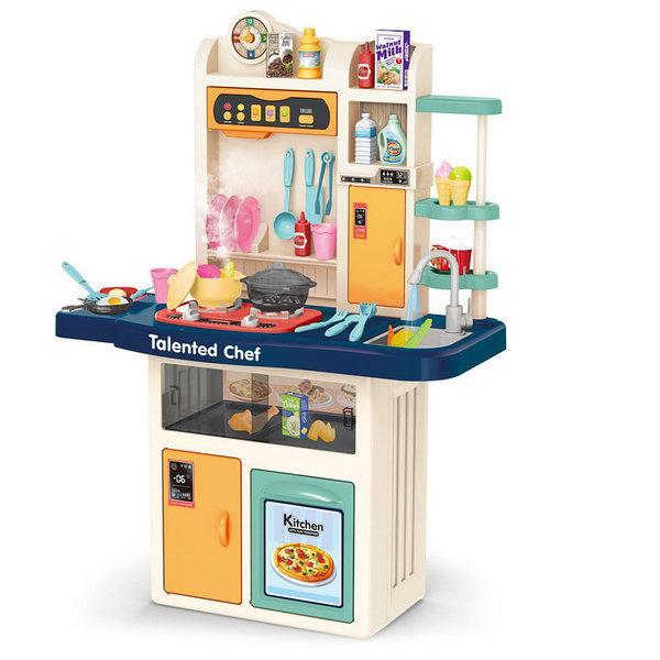 Набір дитячий кухонний Chef Kitchen 67 предметів з підсвічуванням і звуком (922-113) - фото 1